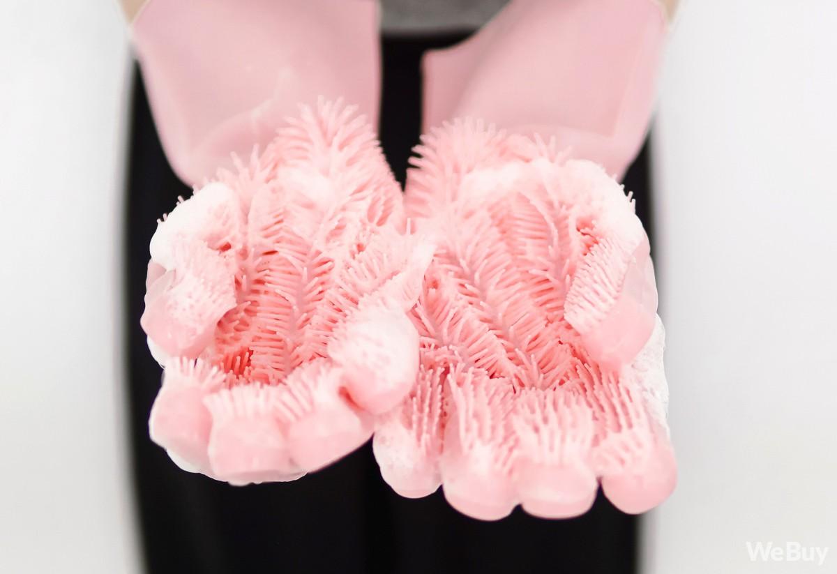 Bỏ 160.000 đồng mua đôi găng tay chuyên dụng rửa bát đầy gai, có đáng hay không? - Ảnh 7.