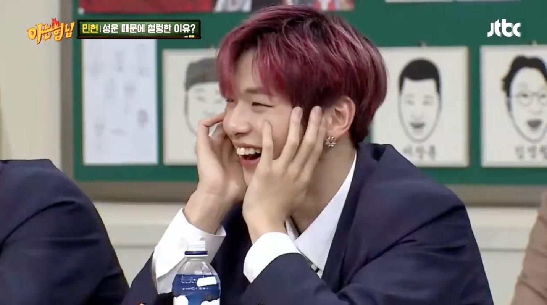 Minhyun (Wanna One) choáng váng khi biết bạn cùng phòng dùng nhầm bàn chải của mình - Ảnh 4.