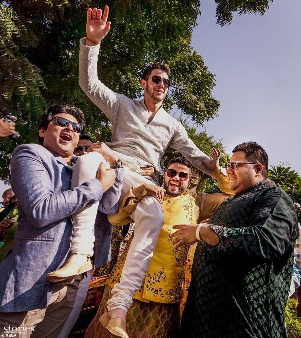 Những hình ảnh đầu tiên trong đám cưới thế kỷ diễn ra suốt 3 ngày của Nick Jonas và Hoa hậu Thế giới - Ảnh 4.