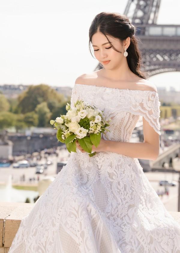 Trọn bộ ảnh cưới tại Pháp của Á hậu Thanh Tú và ông xã doanh nhân trước giờ G hôn lễ - Ảnh 6.