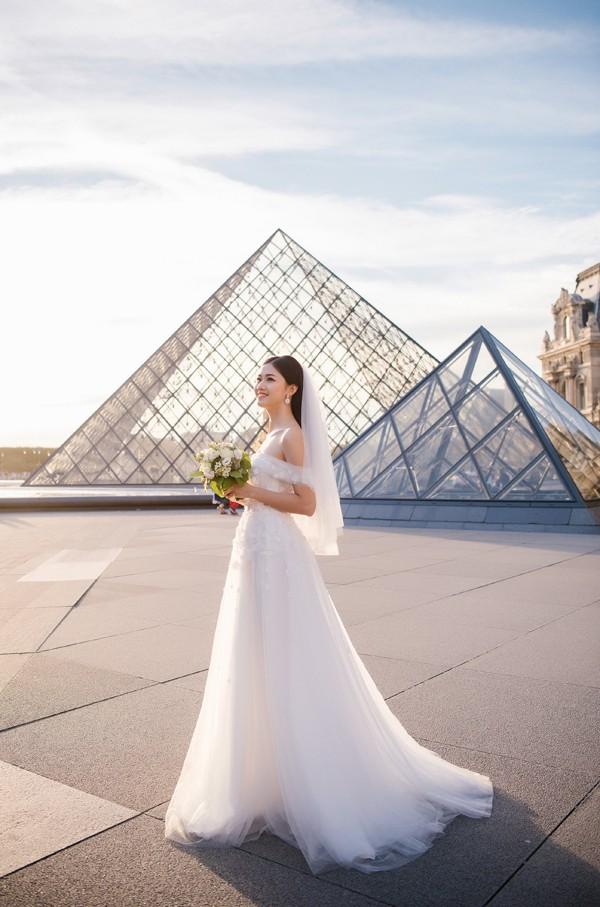 Trọn bộ ảnh cưới tại Pháp của Á hậu Thanh Tú và ông xã doanh nhân trước giờ G hôn lễ - Ảnh 7.