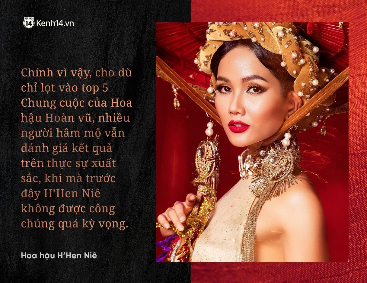 """Chuyện phiếm Hoa hậu: Thành tích Top 5 của H'Hen Nie thực sự là """"Huy chương vàng"""" cho làng hoa hậu Việt Nam - Ảnh 1."""