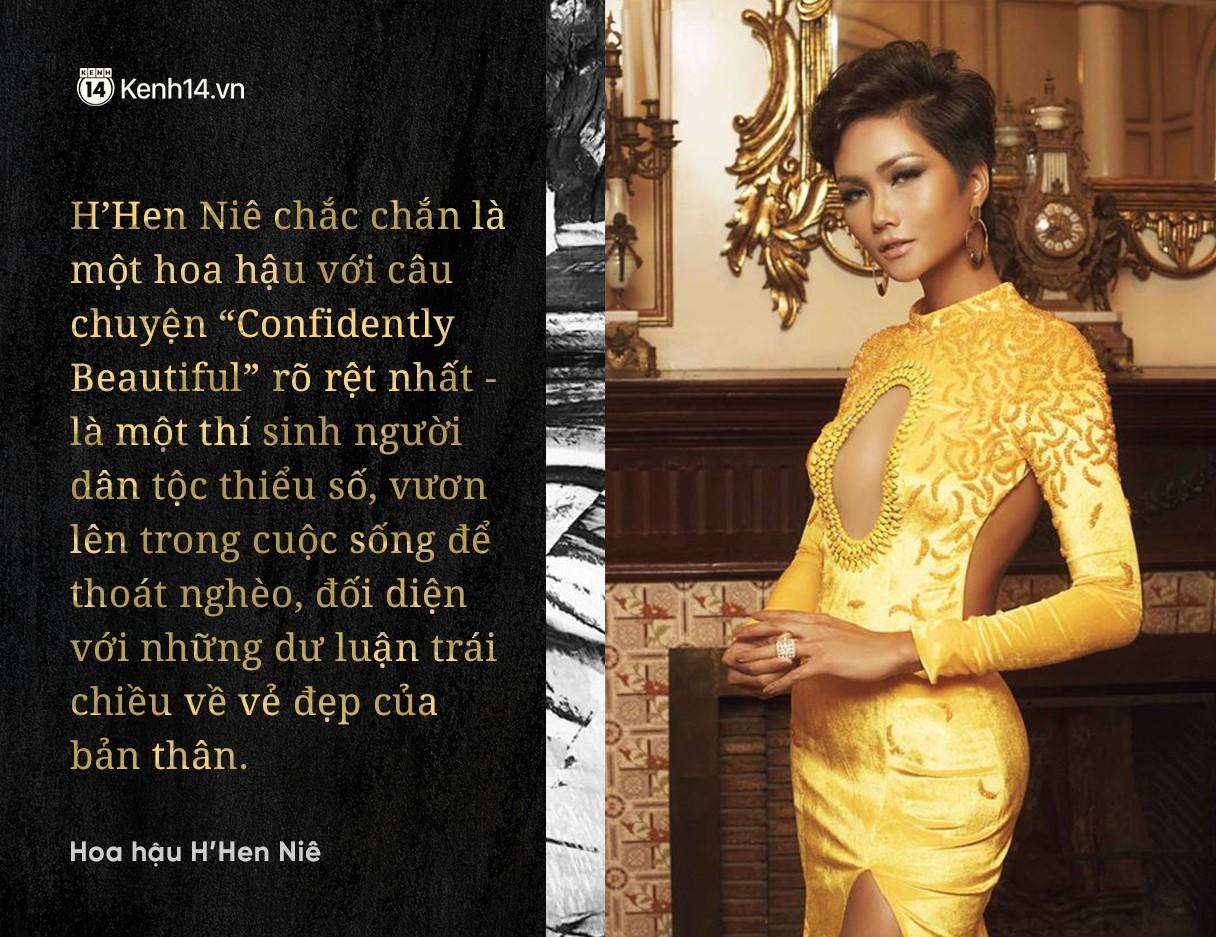 """Chuyện phiếm Hoa hậu: Thành tích Top 5 của H'Hen Nie thực sự là """"Huy chương vàng"""" cho làng hoa hậu Việt Nam - Ảnh 3."""