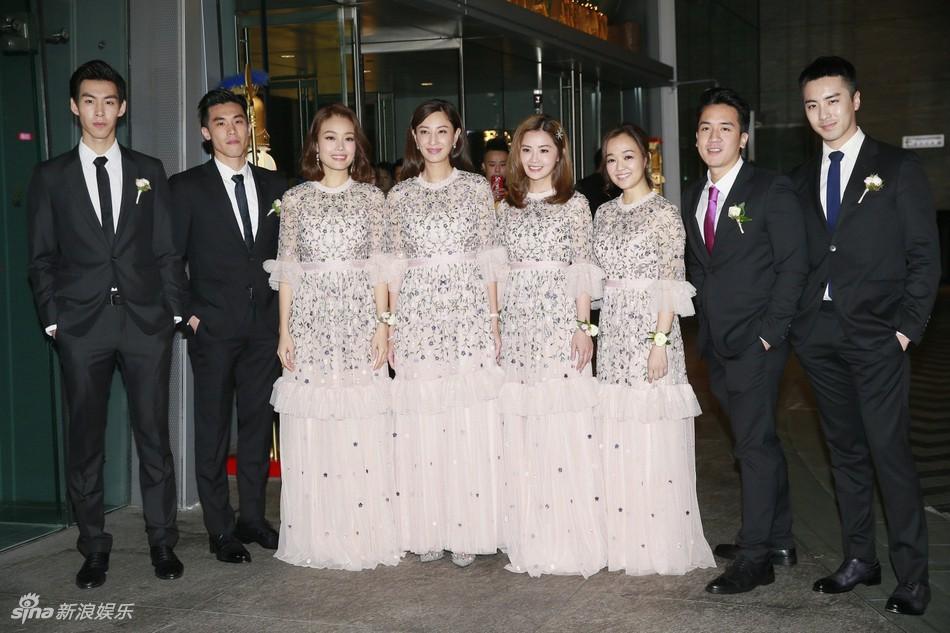 Đám cưới hoành tráng của Chung Hân Đồng: Ông trùm showbiz Hong Kong, con gái tài phiệt Macau cùng dàn sao hạng A tề tựu đông đủ - Ảnh 7.