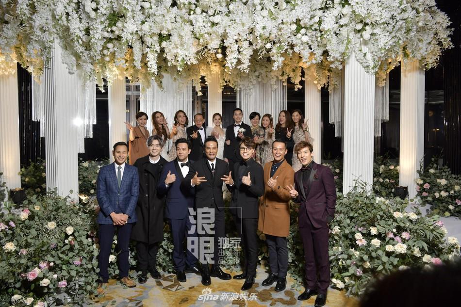 Đám cưới hoành tráng của Chung Hân Đồng: Ông trùm showbiz Hong Kong, con gái tài phiệt Macau cùng dàn sao hạng A tề tựu đông đủ - Ảnh 41.