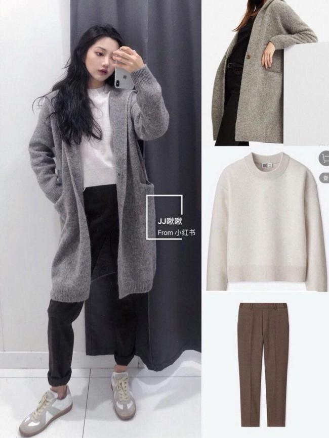 """8 set đồ """"ai mặc cũng đẹp"""" đến từ Uniqlo sẽ là gợi ý tuyệt vời cho các nàng trong mùa đông năm nay - Ảnh 8."""