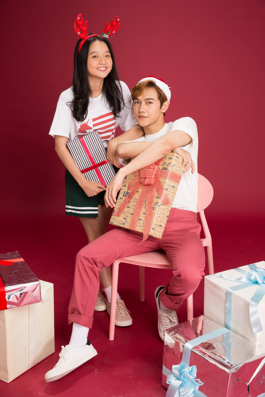 Thanh Mỹ và bạn diễn JSol trong Tình Đầu Thơ Ngây nhắng nhít ở bộ ảnh đón Giáng Sinh bên nhau - Ảnh 6.