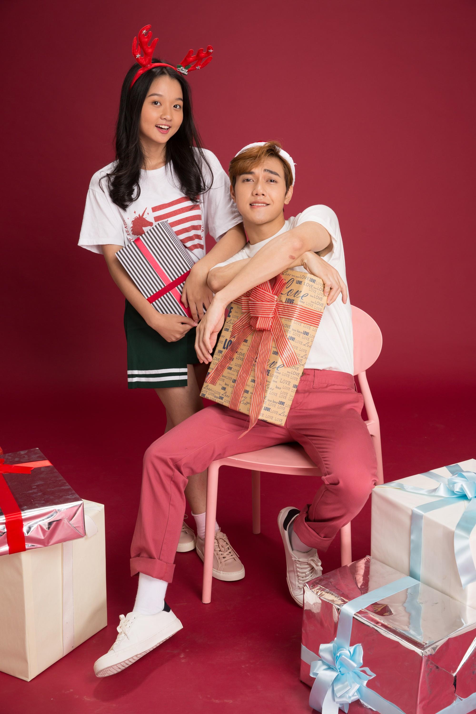 Thanh Mỹ và bạn diễn JSol trong Tình Đầu Thơ Ngây nhắng nhít ở bộ ảnh đón Giáng Sinh bên nhau - Ảnh 5.
