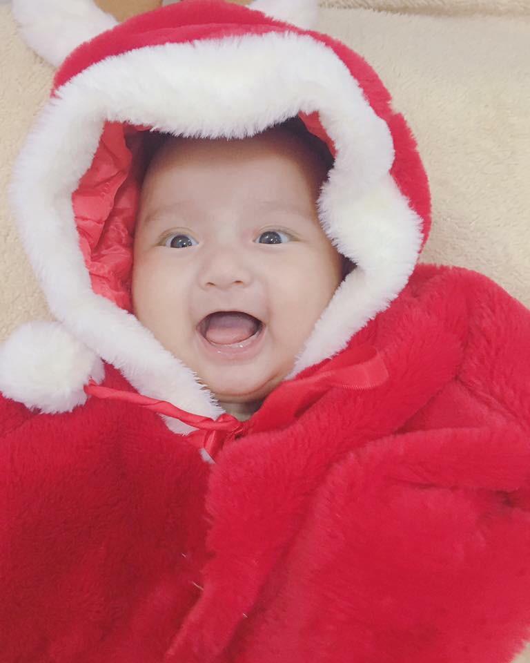 Lâm Tây phiên bản 5 tháng tuổi: Bụ bẫm, tinh nghịch và thần thái chẳng thua gì nguyên mẫu - Ảnh 7.