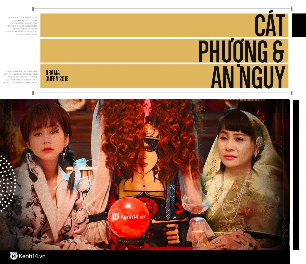 Showbiz Việt 2018: Đêm hội của các drama King and Queen - Ảnh 10.