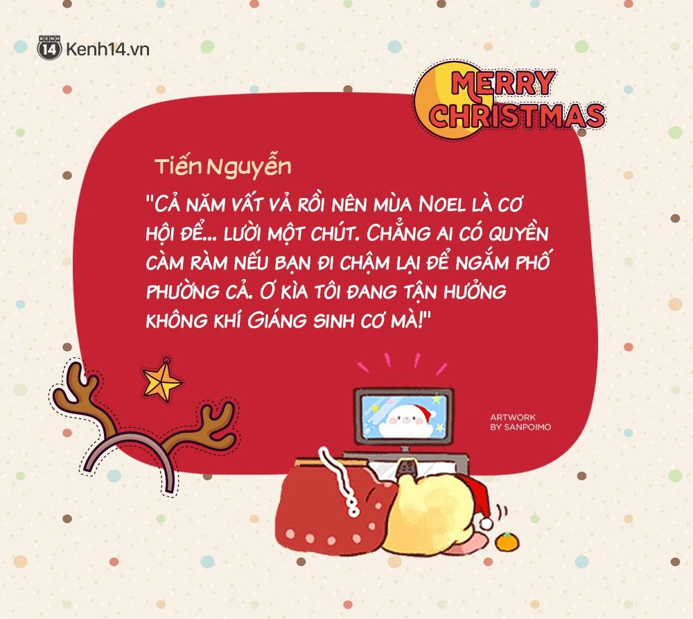 Với bạn thì đó chỉ là Noel, nhưng với nhiều người đó chính là hạnh phúc! - Ảnh 11.