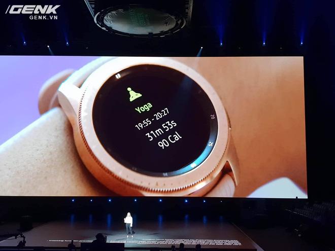 Samsung Galaxy Watch chính thức ra mắt tại Việt Nam, giá từ 7 triệu đồng - Ảnh 3.