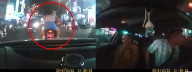 Clip xe phân khối lớn chặn đầu ô tô chở người đi cấp cứu gây bức xúc, một thanh niên lên tiếng sau khi nhận hàng trăm cuộc gọi dọa đánh - Ảnh 3.