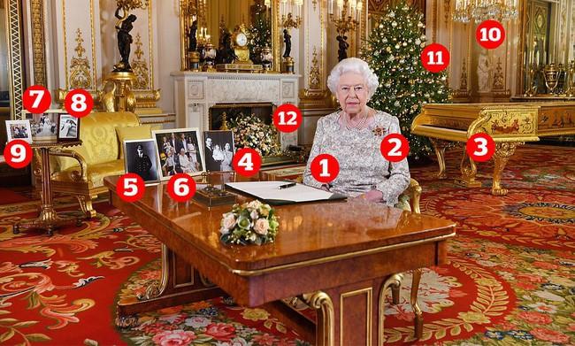 Nữ hoàng Anh gửi thông điệp ngầm về người kế vị ngai vàng trong bức ảnh Giáng sinh 2018 khiến dân tình xôn xao - Ảnh 1.