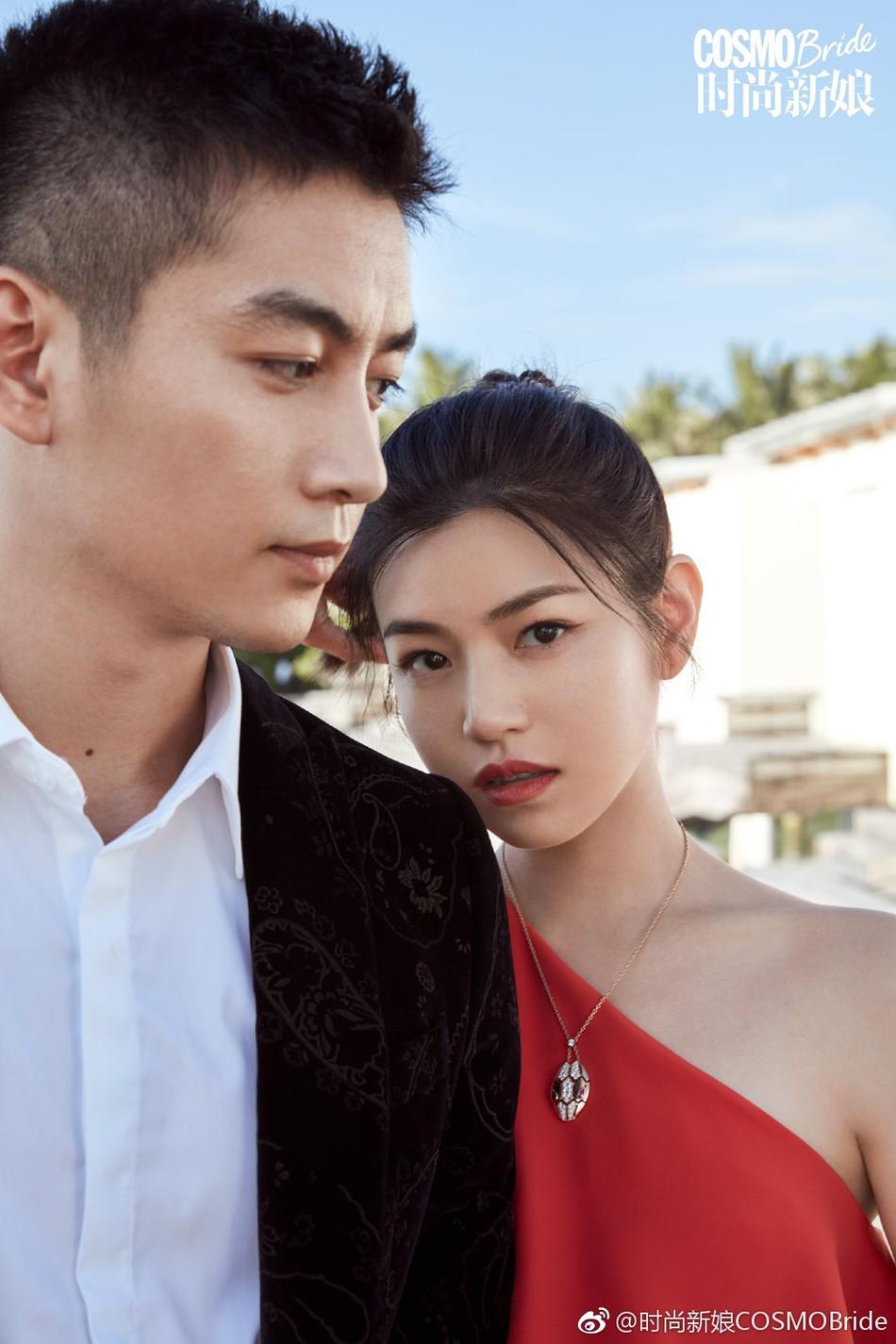 Trọn vẹn bộ ảnh cưới cặp đôi Trần Hiểu - Trần Nghiên Hy chụp lần 2 hâm nóng tình cảm vợ chồng - Ảnh 2.