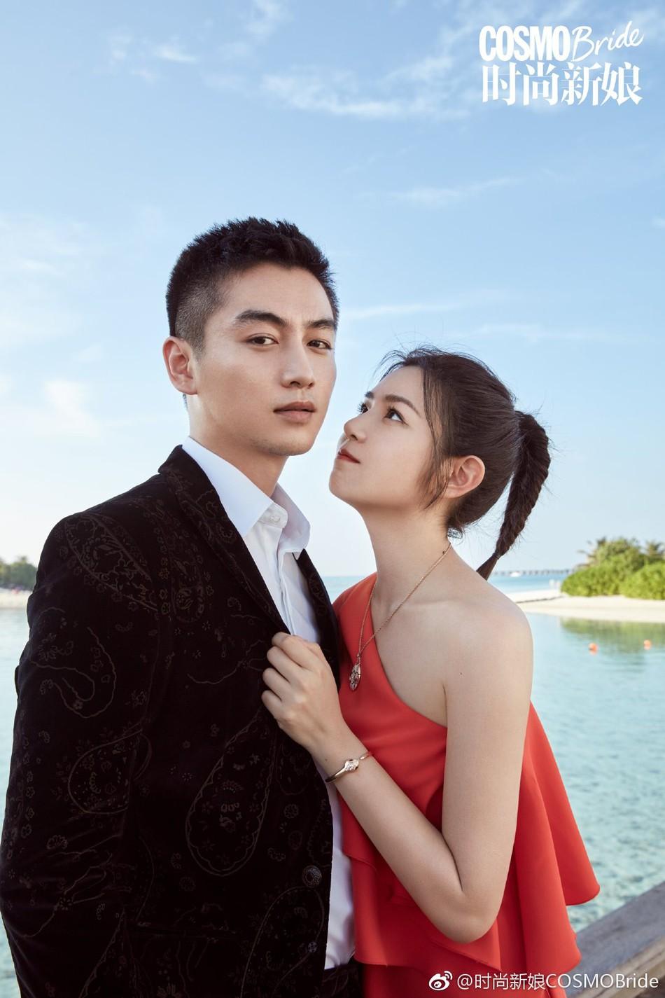 Trọn vẹn bộ ảnh cưới cặp đôi Trần Hiểu - Trần Nghiên Hy chụp lần 2 hâm nóng tình cảm vợ chồng - Ảnh 4.