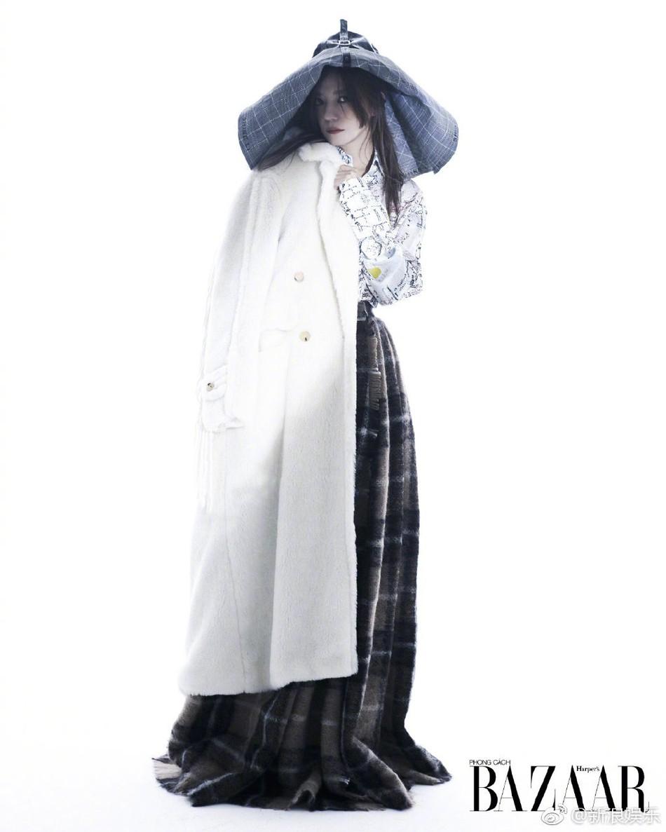 Bất ngờ xuất hiện trên tạp chí Việt Nam, Triệu Vy hóa thân thành nữ hoàng bóng đêm khí chất đỉnh cao - Ảnh 5.