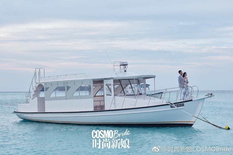 Trọn vẹn bộ ảnh cưới cặp đôi Trần Hiểu - Trần Nghiên Hy chụp lần 2 hâm nóng tình cảm vợ chồng - Ảnh 6.
