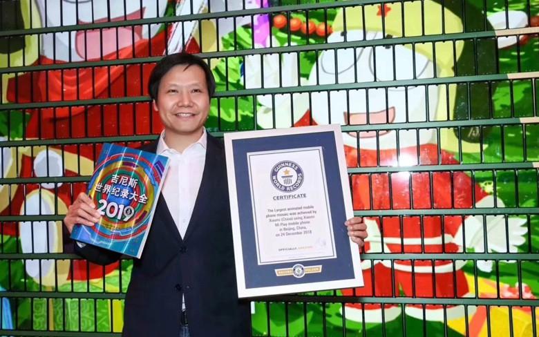 Xiaomi lập kỷ lục Guinness với cây thông Noel ghép bằng điện thoại di động lớn nhất thế giới - Ảnh 2.