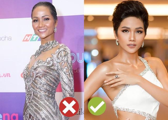 Tạo kỳ tích tại Miss Universe với da nâu tóc tém, nhưng HHen Niê nhiều lần dìm nhan sắc bằng kiểu tóc xấu khó cưỡng - Ảnh 6.