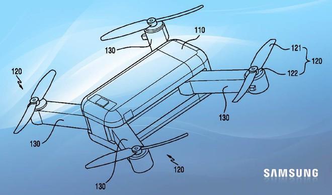 Samsung sẽ gia nhập thị trường drone với một chiếc drone biến hình? - Ảnh 1.