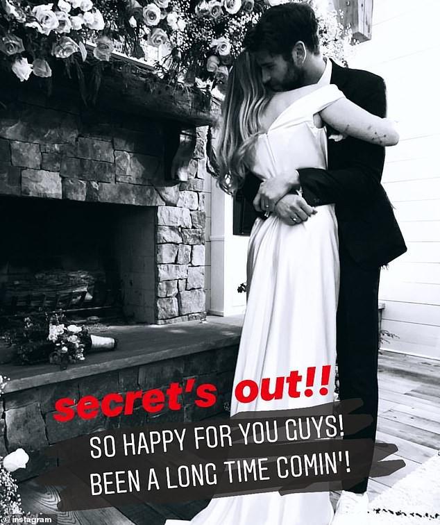 Hé lộ thêm ảnh Miley Cyrus diện váy cưới lộng lẫy và nhiều chi tiết gây bất ngờ về hôn lễ - Ảnh 3.
