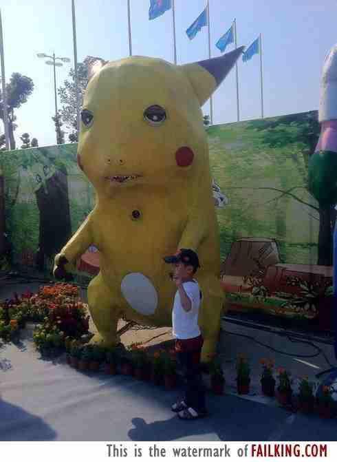 [Vui] Tổng hợp những màn cosplay Pikachu thất bại trên khắp thế giới - Ảnh 1.