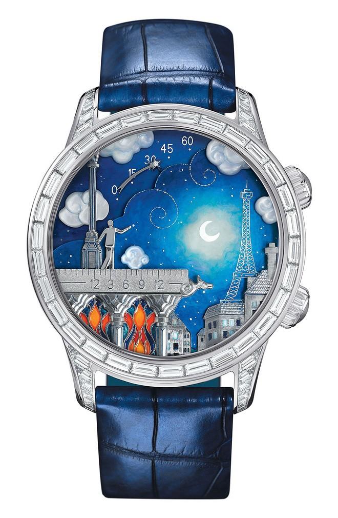 Ngỡ ngàng với 10 thiết kế đồng hồ kỳ lạ nhất Trái Đất, chiếc thứ 5 dành cho người luôn trễ hẹn - Ảnh 10.