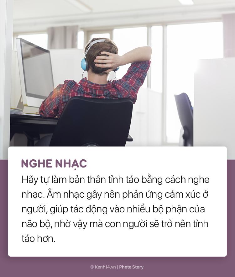 Không còn ngủ gật tại văn phòng với những mẹo đơn giản này - Ảnh 3.
