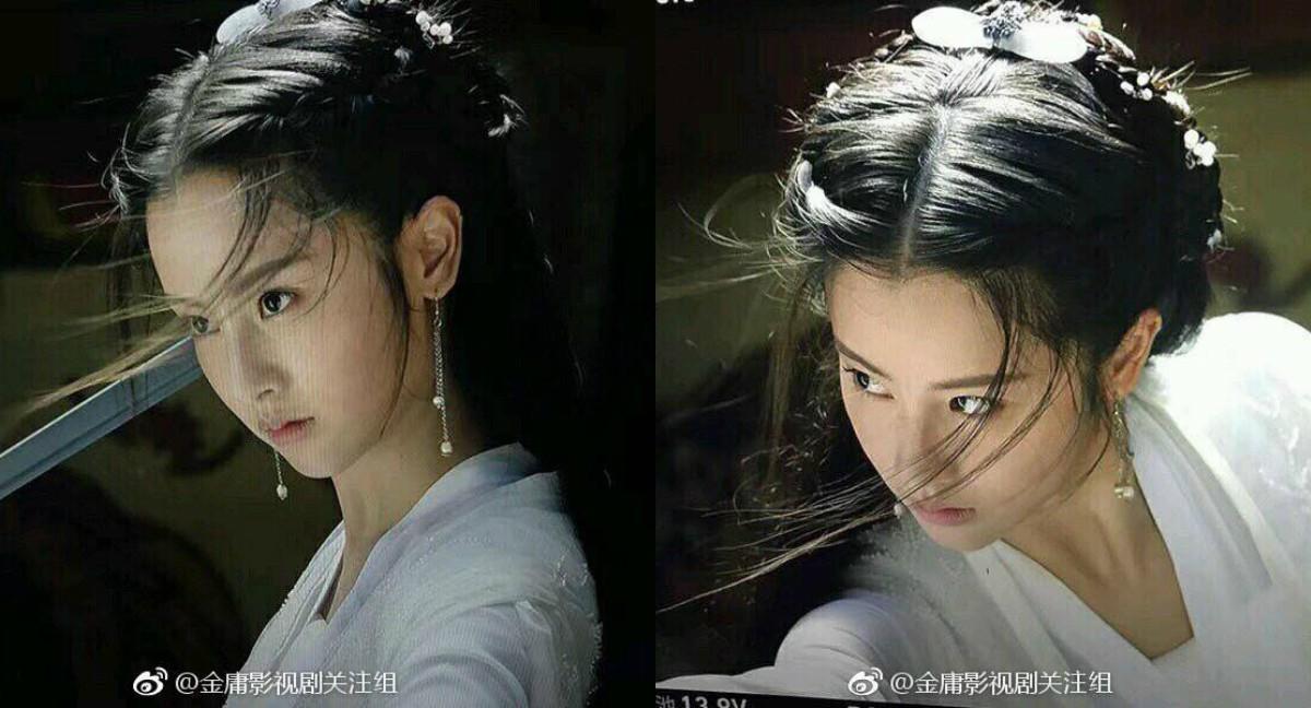 Chỉ với tấm ảnh góc mặt khác, Tiểu Long Nữ của Thần Điêu Đại Hiệp 2019 bị chê xấu hơn cả phiên bản của Trần Nghiên Hy! - Ảnh 1.