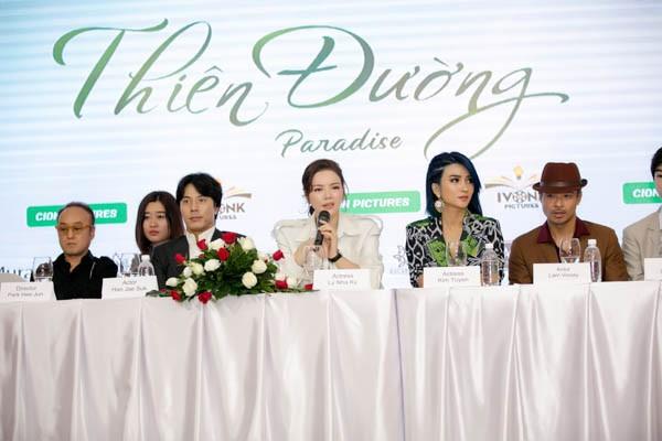 Nghi vấn phim điện ảnh với tài tử đình đám xứ Hàn vỡ nợ, Lý Nhã Kỳ lên tiếng: Bản thân tôi cũng là nạn nhân sau khi NSX biến mất - Ảnh 5.