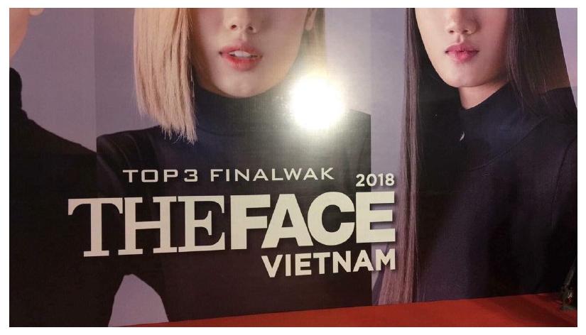The Face Vietnam 2018: Backdrop sai chính tả, quán quân cầm chai trà sữa trông thật kém sang - Ảnh 1.