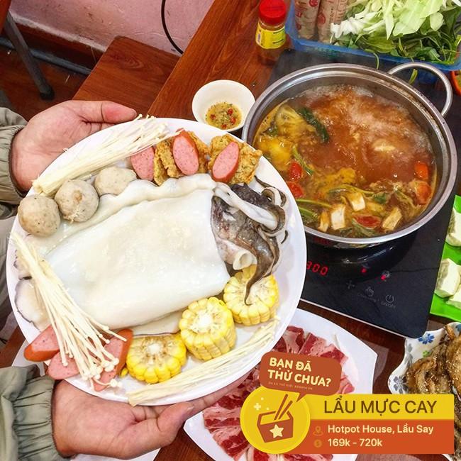 Thách thức team ăn cay với các loại lẩu cay nồng cho buổi tiệc tất niên ngày lạnh ở Hà Nội - Ảnh 9.