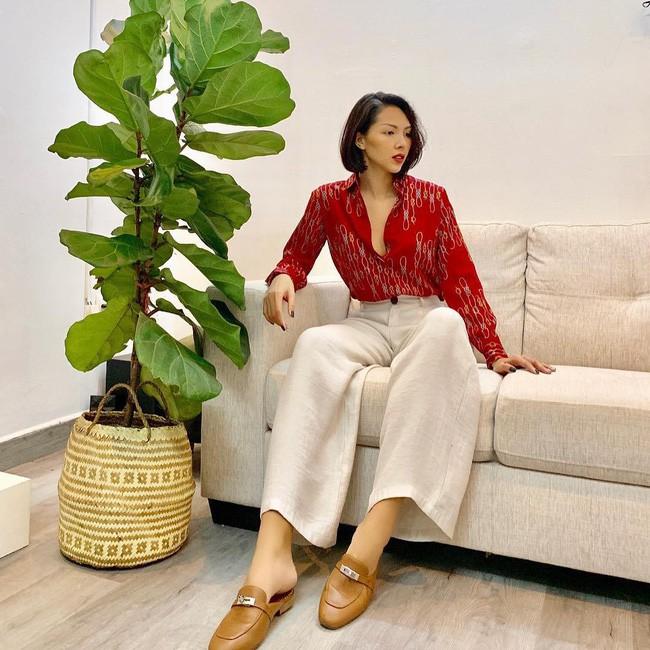 Street style sao Việt cuối năm: Hà Hồ không đi tất dù trời lạnh, Kỳ Duyên và Minh Triệu cùng diện đồ màu nóng - Ảnh 2.