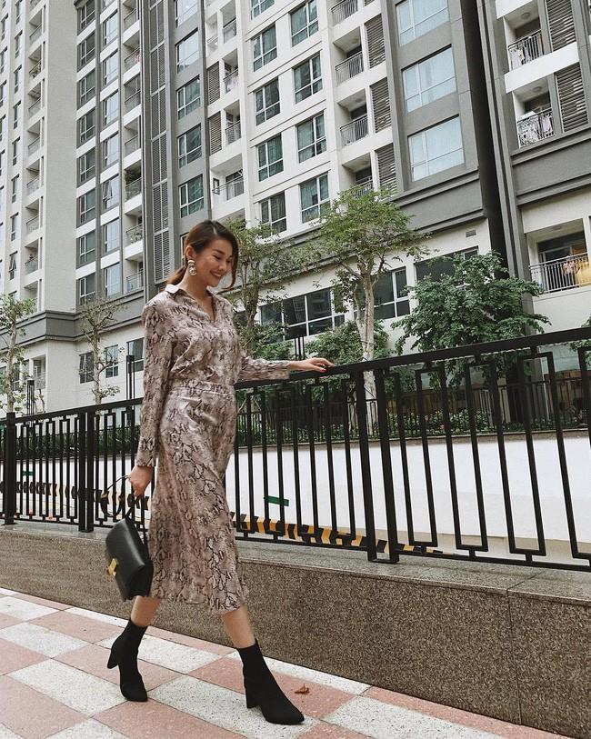 Street style sao Việt cuối năm: Hà Hồ không đi tất dù trời lạnh, Kỳ Duyên và Minh Triệu cùng diện đồ màu nóng - Ảnh 10.