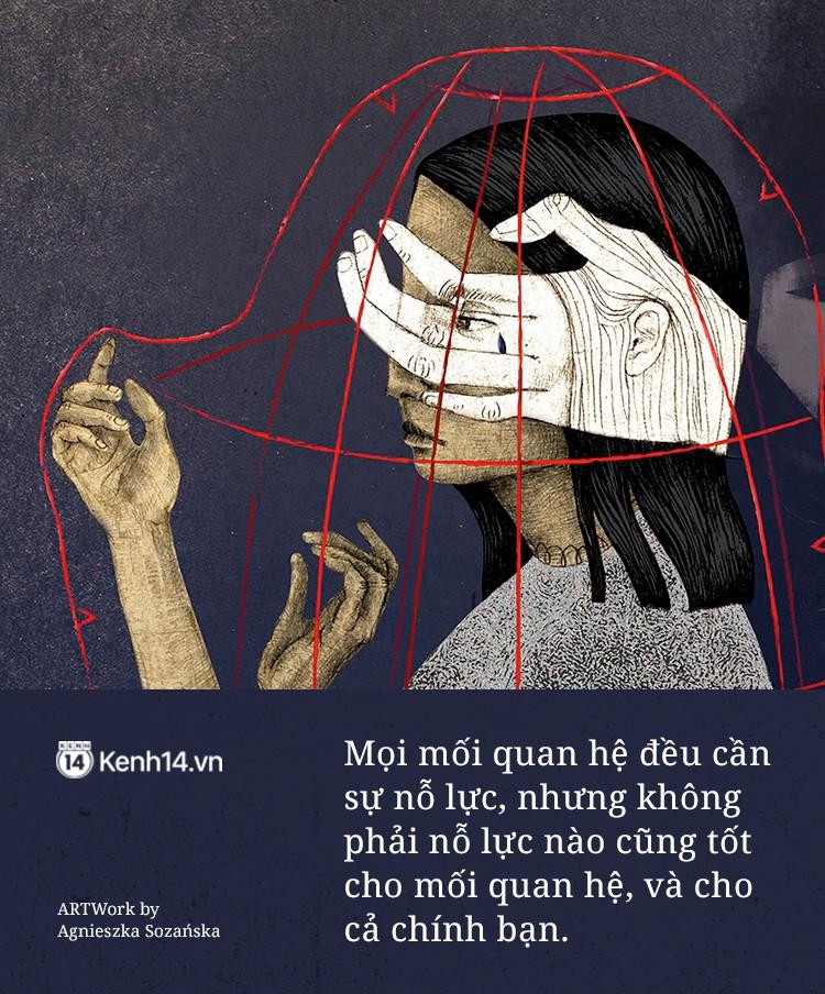 Tình yêu cần đến sự nỗ lực, nhưng không có nghĩa là phải-chịu-đựng - Ảnh 1.