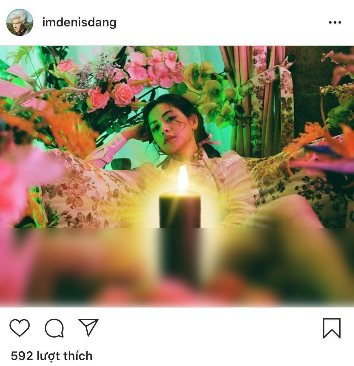 Denis Đặng gây tranh cãi khi đăng ảnh nhạy cảm của Chi Pu trong MV 16+ - Ảnh 1.