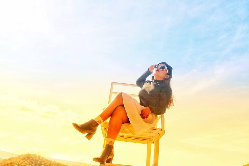 Đà Lạt xuất hiện ghế săn mây để chụp ảnh sống ảo, không hổ danh là nơi đi hoài chẳng chán - Ảnh 4.