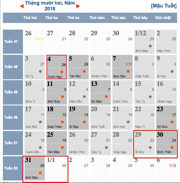 Dịp Tết dương lịch và Tết âm lịch 2019 người lao động được nghỉ mấy ngày? - Ảnh 2.