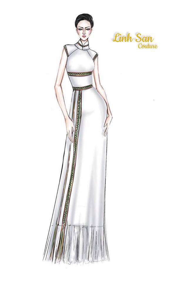 Giữa dàn cả trăm người đẹp, HHen Niê thuộc số hiếm được chọn xuất hiện trên Instagram của Vogue Thái với áo dài lạ - Ảnh 7.