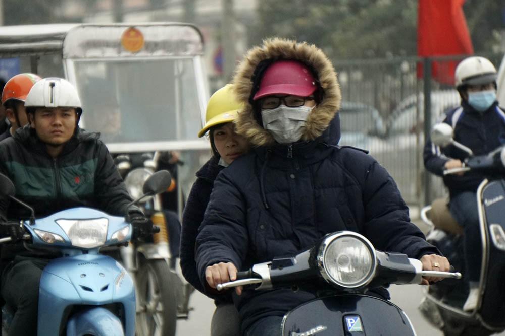 Cuối tuần miền Bắc đón gió mùa đông bắc, Hà Nội mưa rét, thấp nhất 15 độ C - Ảnh 1.