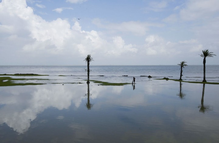 Cuộc sống trên hòn đảo đang chìm dần của Ấn Độ - Ảnh 10.