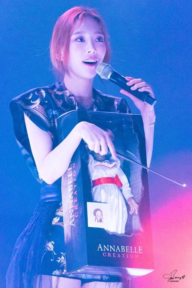 Màn kết thúc concert độc đáo nhất nhì Kpop phải thuộc về thánh lầy Taeyeon (SNSD) - Ảnh 2.