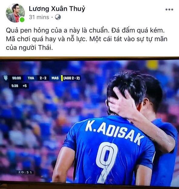 Thái Lan thất bại, dân mạng sướng rơn khi đường tới cúp vô địch AFF Cup của Việt Nam rộng mở - Ảnh 3.