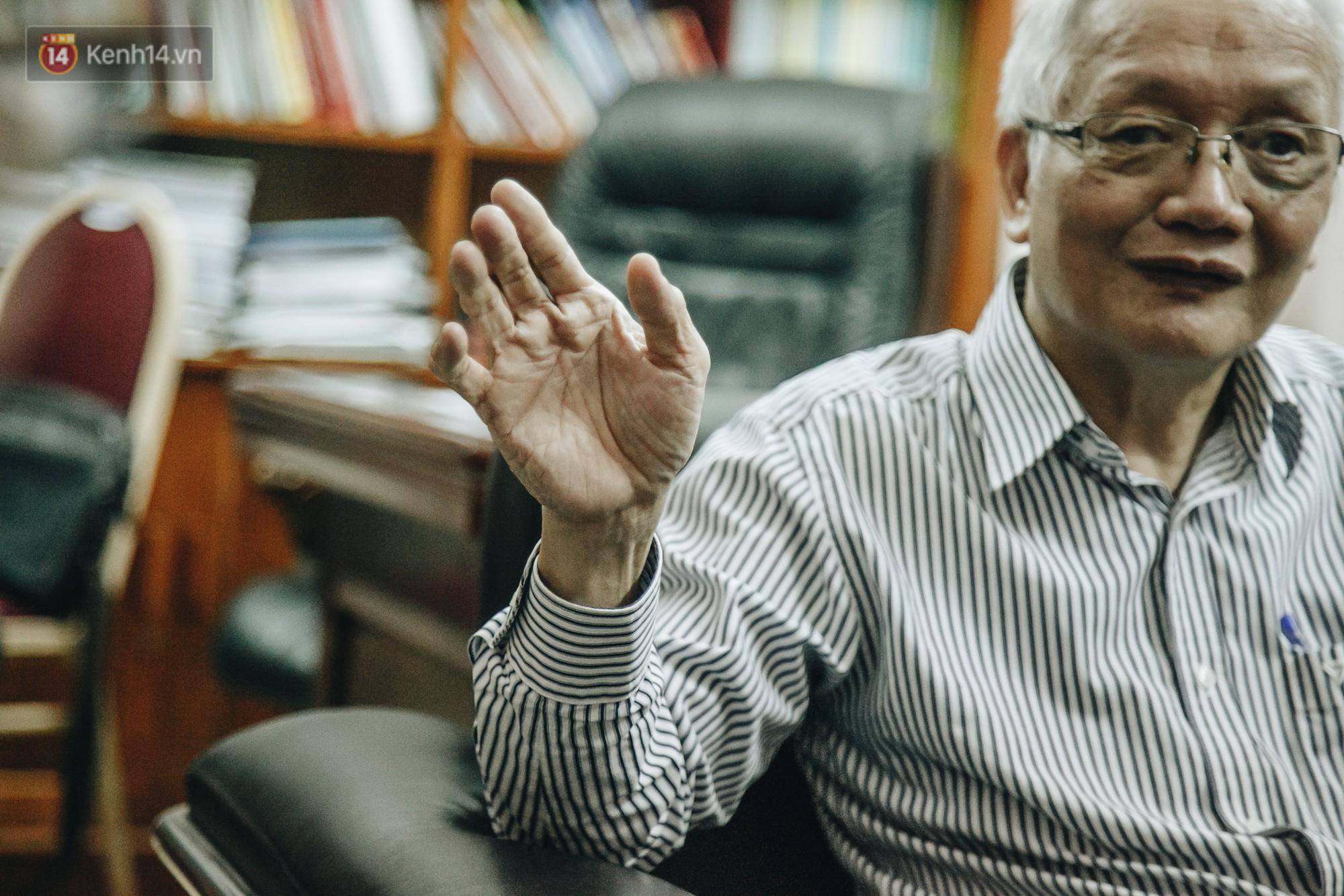 Chủ tịch Hội tâm lý Giáo dục Hà Nội nói về 2 vụ tát học sinh: Việc xin lỗi học trò sẽ làm nhân cách của thầy cô lớn hơn chứ không thấp đi - Ảnh 5.
