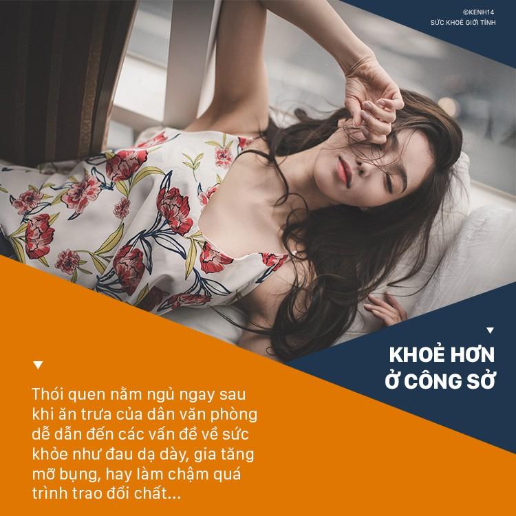 Nằm ngủ ngay sau khi ăn trưa: thói quen dân văn phòng hay mắc phải tiềm ẩn nhiều nguy hại sức khỏe - Ảnh 1.