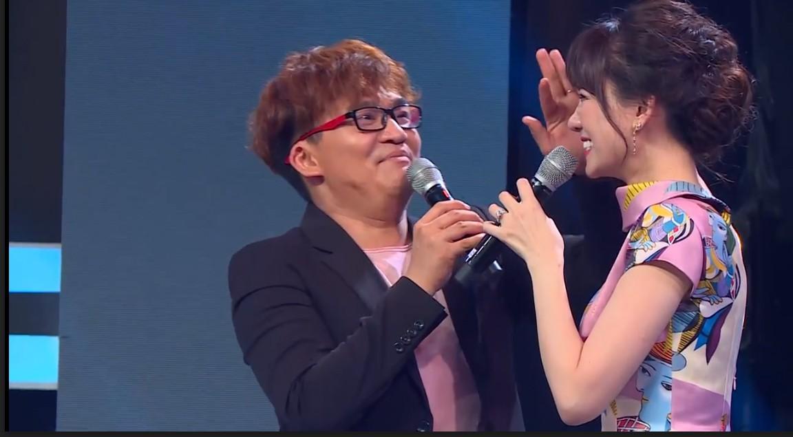 Hari Won phàn nàn vì bị Đại Nghĩa giành nói khi cùng làm MC - Ảnh 2.