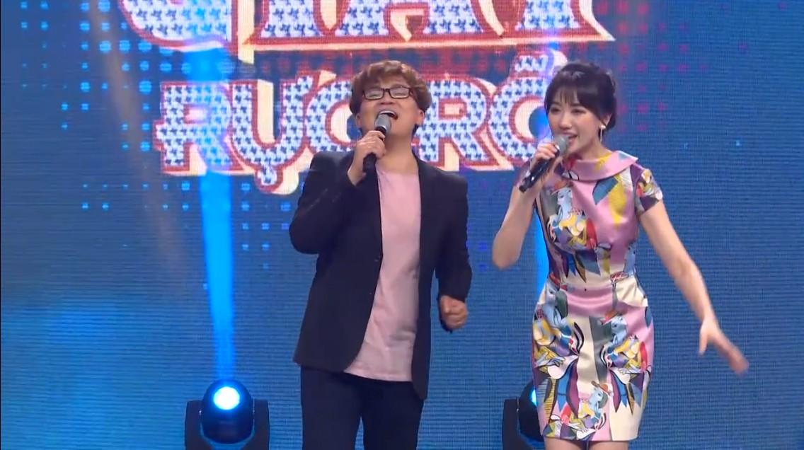 Hari Won phàn nàn vì bị Đại Nghĩa giành nói khi cùng làm MC - Ảnh 3.