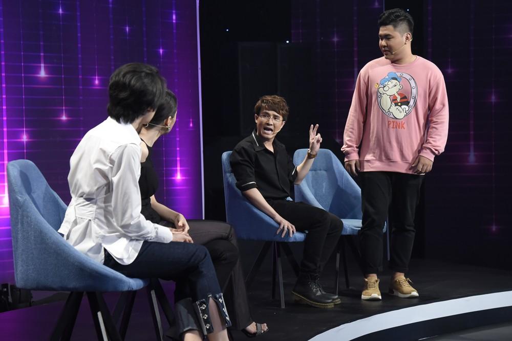 Không chỉ bị bạn bè xua đuổi, Huỳnh Lập còn bị MC gameshow mời... đi về - Ảnh 3.