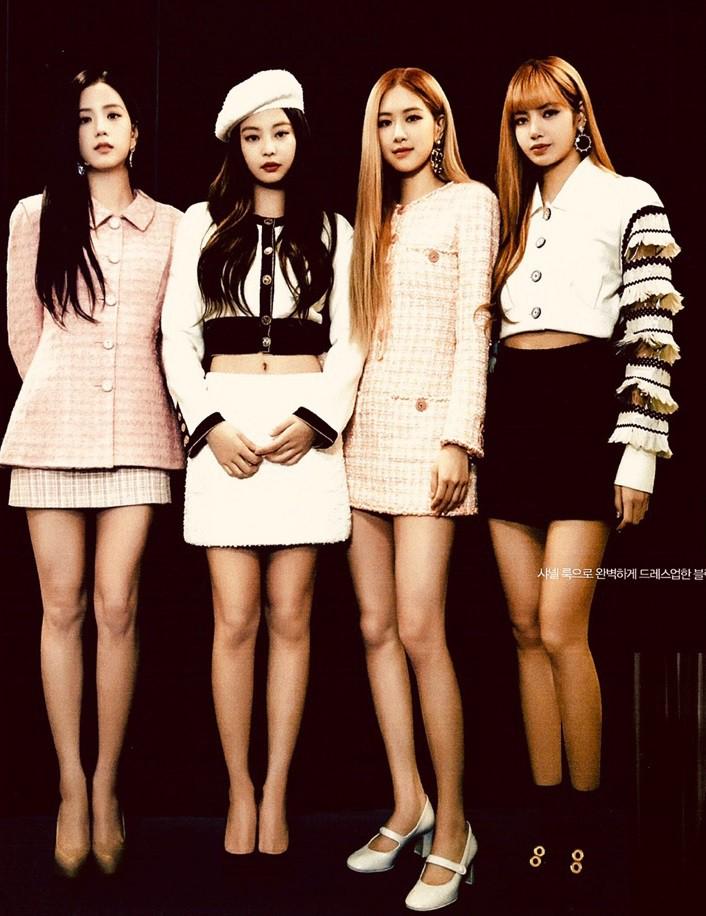 """Chân gầy hay béo mới là """"cực phẩm"""" khi diện váy ngắn: Rosé (Black Pink), Cổ Lực Na Trát và Min Hyo Rin sẽ khiến bạn khó nghĩ - Ảnh 2."""
